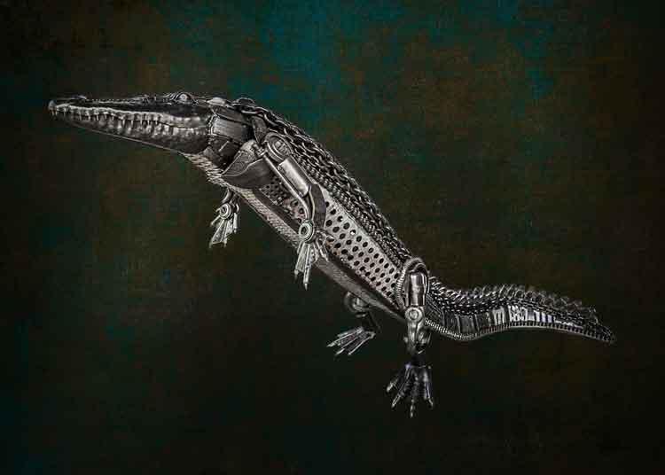 Crocodile-Full-Size-Sculpture